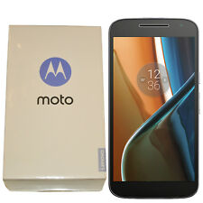 BNIB Motorola Moto G4 16GB XT1622 Single-SIM Black Factory Unlocked 4G/LTE OEM