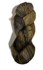 Ella Rae Lace Merino Yarn Color Unmarked - Brown And Mustard Gold