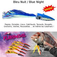 Leurre flamingo peche Mer Bleu Nuit / Multi-species flamingos lures Blue Night
