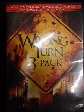 Wrong Turn 3 Pack (DVD 2009 Rated/Unrated WS) HORROR