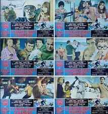 ON HER MAJESTY'S SECRET SERVICE JAMES BOND Italian fotobusta movie poster set x6