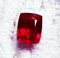 Loose Gemstone 7 to 9 Cts Natural Red Ruby Certified Single Stone