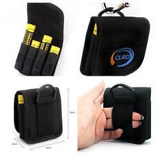 1PC New Nylon Case Holder Storage For 4 x 18650 Battery belt holster clip hook