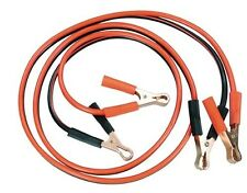 BATTERY JUMPER CABLES MOTORCYCLE ATV SNOW MACHINE WATER CRAFT 6 FOOT 10 GAUGE