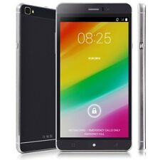 "6"" Android Unlocked Quad Core 2Sim Smartphone GSM/3G AT&T Cell Phone GPS Black"
