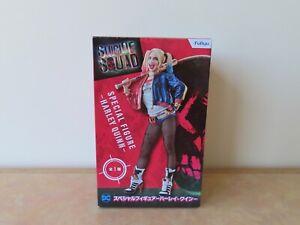 Furyu DC Comics Suicide Squad Harley Quinn PVC Figurine (Boxed) Japanese Import