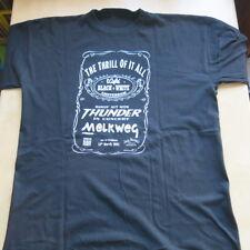 THUNDER Thrill Of It All 13th March 1997 Original Dutch t-shirt Jack Daniel's