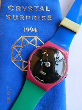 SWATCH+CLUB-SPECIAL #4++GZ129 CRYSTAL SURPRISE++by ALESSANDRO MENDINI+NEU/NEW