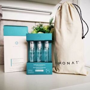 Monat Double Action Hydrating Serum 3 x 15ml  BRAND NEW BOX SEALED RRP £65