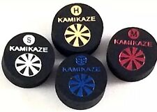 Kamikaze Black Layered Cue Tips  14 MM (Mix & Match) (5 Tips)  Fast Shipping....