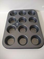 12 Mini Cupcake Cheesecake Tray Non Stick Small Muffin Baking Tin Pan Cake