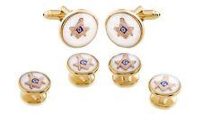 Freemason / Masonic Cufflinks And Studs ! Manufacturers Direct Pricing!