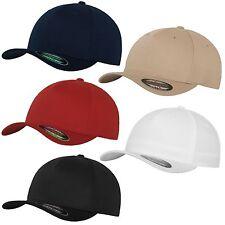 Flexfit 5 Panel Baseball Cap Original Flex Capy Basic Hat S/M L/XL