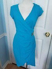 cache blue dress m          #706
