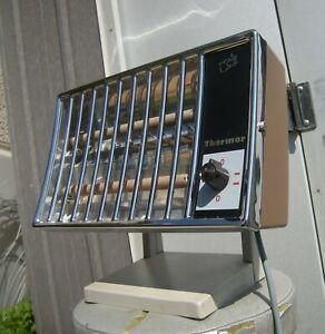 ancien radiateur chauffage electrique Thermor déco vintage loft