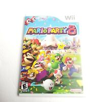 MARIO PARTY 8 (Nintendo Wii) Video Game Complete w/ Manual Tested & Working 2007
