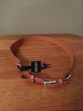 NEW Ralph Lauren Ladies Adjustable Tan Leather Belt M