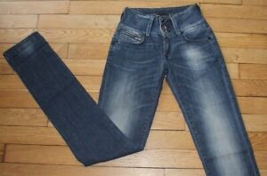 TIFFOSI  Jeans pour Femme W 25 - L 34 Taille Fr 34 NEUF (Réf #G151)