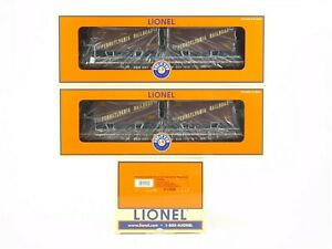 O Gauge 3-Rail Lionel 6-11858 PRR Pennsylvania PS-4 Flat Car w/ Trailers 2-Pack