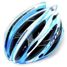 SH+ - CASCO STRADA MTB SENIOR ZEUSS BLU/WHITE MADE IN ITALY-TG.L/XL
