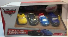 Disney/Pixar Cars 2 Race Day Fan Clutch Foster, 4-Car Gift Pack Target Only