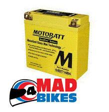 MOTOBATT mbt14-b4 Extension Batterie pour YT14B4, gt14b4