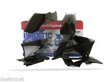 Kit plastiques  Polisport  Couleur Noir Gas Gas Ec 125 200 250 300 450 2010