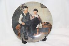 Norman Rockwell Plate the Lighthouse Keeper Daughter 1979