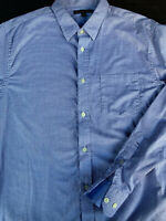 Banana Republic Mens Button Front Long Sleeve Cotton Shirt X Large XL