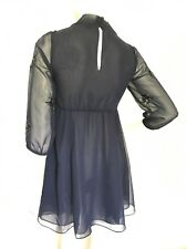 Frock and Frill Embellished Women Dress With Cape Detail UK SIZE 8