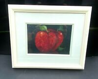 Rare Limited Miniature Print Still Life Apples by Lucien Daigneault fine art