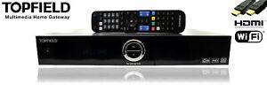 Topfield SRP-2401CI+ Smart Pro 500GB HDTV Twin Sat Receiver Festplatte
