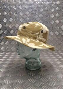 Genuine British Army DPP Boonie / Bush Hat Desert CAMO No Flap - NEW 63cm