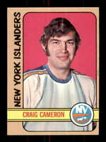 1972-73 Topps #22 Craig Cameron NM/NM+ RC Rookie NY Islanders 501079