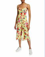 NWT Anthropologie Yumi Kim Milan Sunnyside Yellow Jumpsuit Sz L Jumper $218 NEW