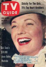 1957 TV Guide July 13 - Gail Davis-Annie Oakley; Vincent Price; Ida Lupino; Rich