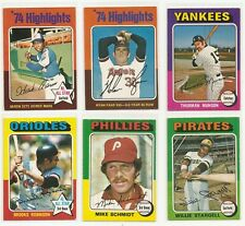 1975 O-Pee-Chee OPC (1-132) Stars and Commons * You Pick * Conditions Listed