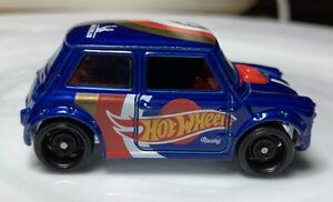 Hot Wheels Race Team Morris Mini Blue 1/64 Diecast Loose