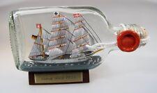 Gorch Fock Buddelschiff Flachmann 0,1 Liter 13x7 cm Buddelschiff Flaschenschiff