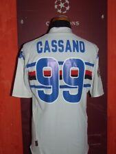CASSANO SAMPDORIA 2008/2009 SHIRT MAGLIA CALCIO FOOTBALL SOCCER CAMISETA MAILLOT