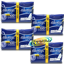 20 Always Ultra Night With Wings Sanitary Pads