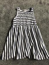 Girls Stripey Dress Age 7
