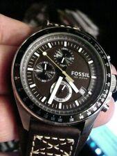 FOSSIL DECKER 10ATM DIVER Chronograph Tachymeter MEN WATCH CH2599 BIG CROWN