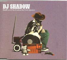 DJ SHADOW w/ Q TIP Enuff w/ UNRELEASED & VIDEO CD single SEALED USA Seller 2006