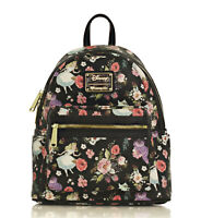 Loungefly X Disney Alice in Wonderland Character Floral Print Mini-Backpack