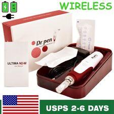 Electric Dr.Pen Wireless Profession Auto Anti Aging Acne Skin Care+ 2pcs Needles
