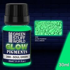 Pigmenti luminescenti - VERDE dell'Anima - fluorescente warhammer 40K