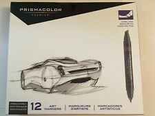 Prismacolor Marker Set/12 French Grays