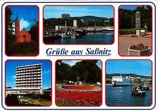 Grüße aus Saßnitz , Ansichtskarte, gelaufen
