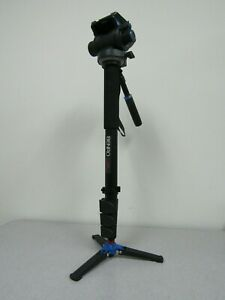 Benro A48FDS6 Monopod with Flip Lock, S6 Head - Max Load 13.2 lb (6 kg)